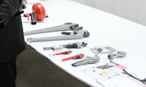 DIYスクール 配管用専用工具メーカー リジッド