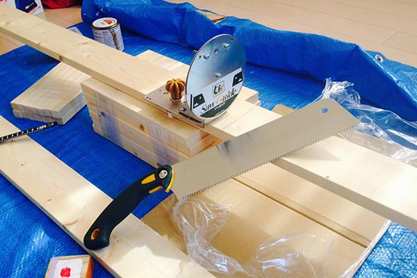 1×4や2×4木材をまっすぐ切るアイテム