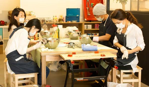 DIY FACTORY OSAKAは、9月もワークショップやってるよ。