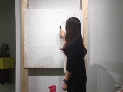 漆喰の勉強会♪