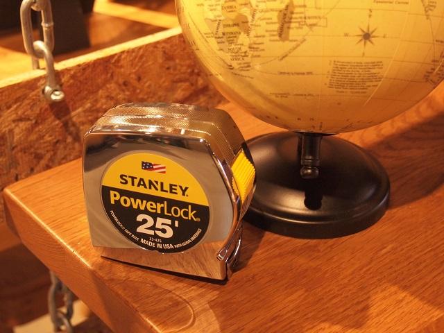 スタイリッシュなデザインとクオリティ ~STANLEY パワーロックテープメジャー~