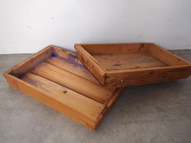 染み込んだ使用感が素敵! ~アンティークな木箱~