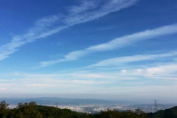 秋だ、行楽日和だ、山に登ろう~!