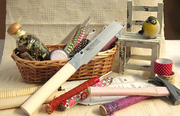 カラフルにアレンジしてお気に入りの道具に!~carry coffret 女性向けの道具セット~
