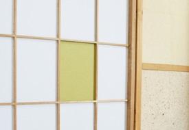 和紙の暖かみとポップな色合い ~インテリア障子紙 カラー和紙~