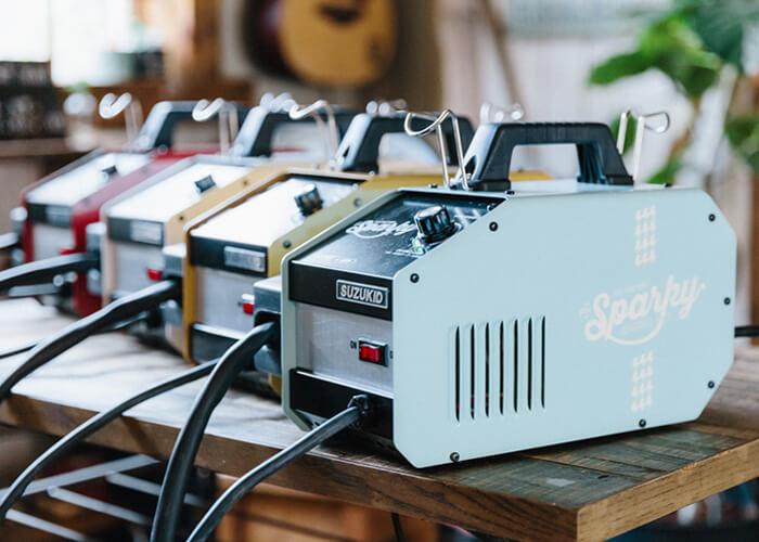 オリジナルの家庭用溶接機sparky