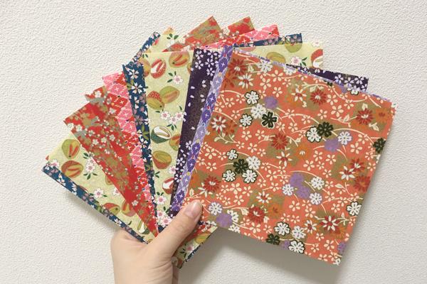 折り紙で簡単!和風ガーランド