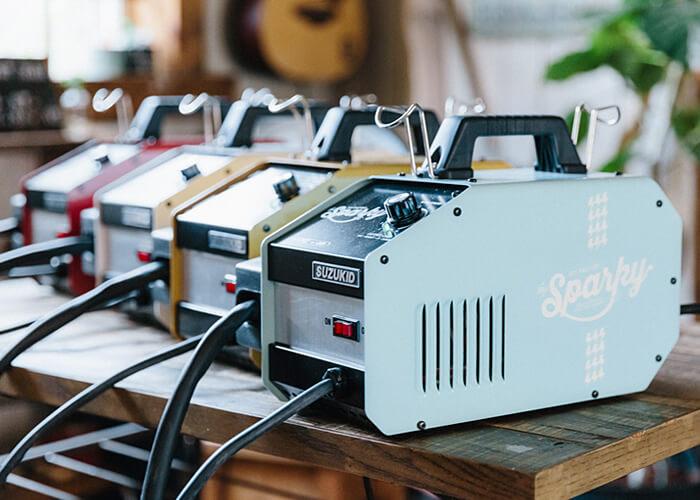 半自動溶接機DIY FACTORY sparky