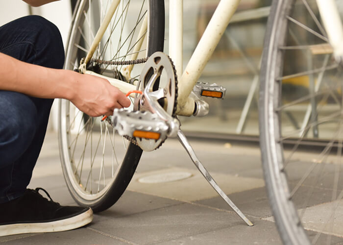 ブロキと自転車