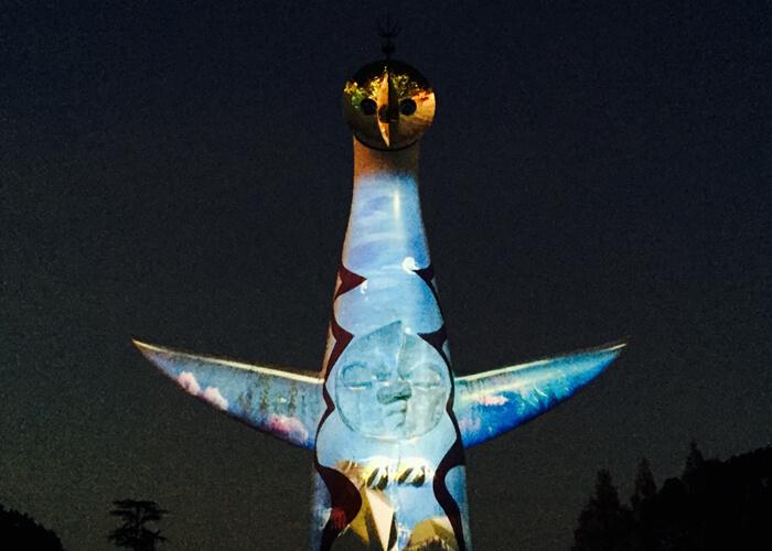 太陽の塔イルミナイト万博その3