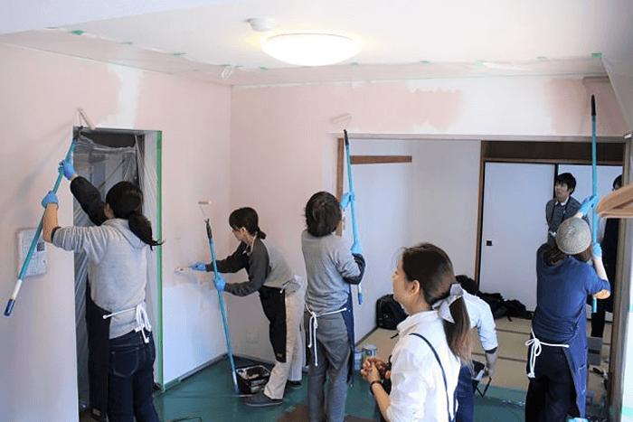 12/16、17、中央林間の中古物件で壁紙体験イベントを開催!
