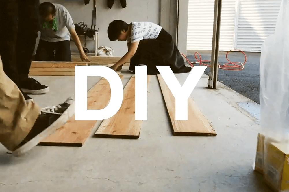 感謝祭に向けて、みんなで週末DIY!