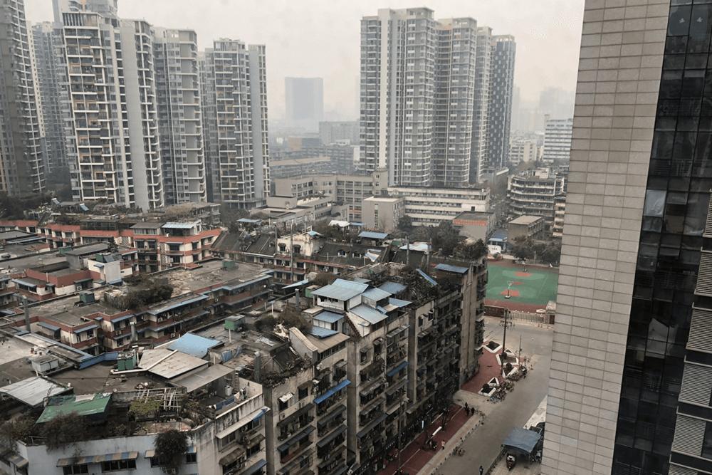 中国四川省成都訪問記2019