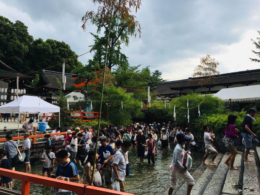 下鴨神社の「みたらし祭」