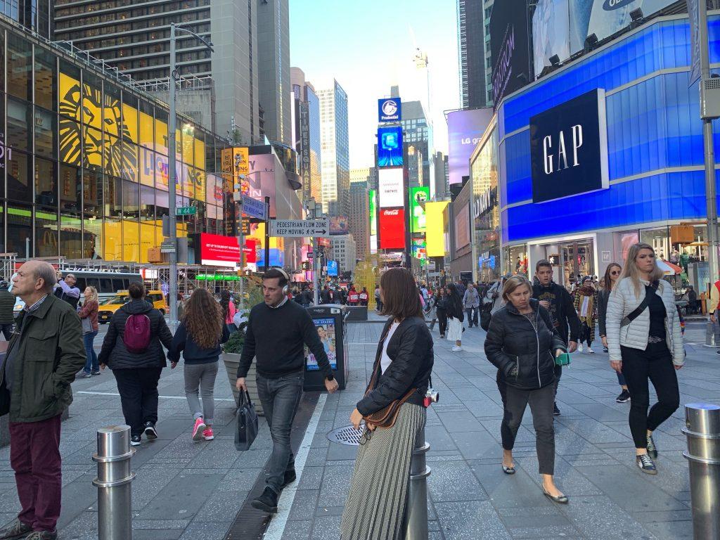 New York 旅行